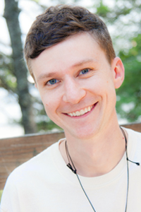Brian Satenstein, a Camper at 'Camp' Camp, an all-inclusive vacation in Maine for GLBT adults