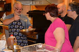Cooking Classes at 'Camp' Camp, a summer camp vacation for LGBT adults