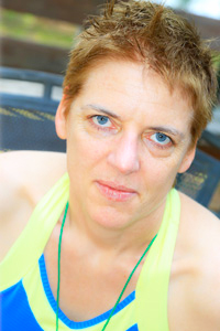 Elaine Beale, Rainbow Group Leader at 'Camp' Camp, America's premier summer camp for GLBT adults