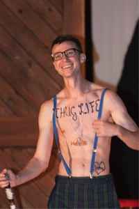 Talent Show at 'Camp' Camp, America's premier outdoor vacation for GLBTQ adults