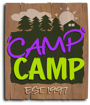 Logo for 'Camp' Camp – America's premiere summer camp for GLBT adults