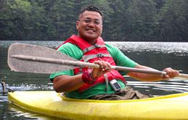 Swimming, sailing, kayaking and canoeing at Camp Camp, America's fun GLBTQ summer camp!