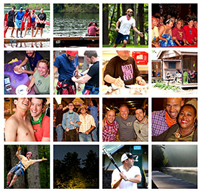 Photos from'Camp' Camp, America's GLBT summer vacation camp for gays, bisexuals and lesbians.