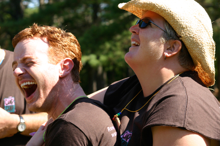 Big laughs at Camp Camp, a summer camp experience for GLBTQ adults in Maine