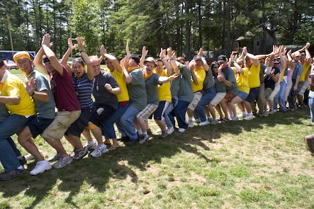 Meet fun GLBT friends at Camp Camp, a summer camp vacation in Maine for GLBT adults