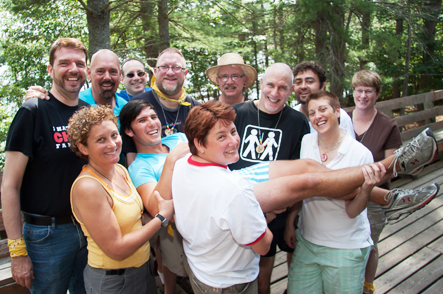 Connect with GLBT friends at Camp Camp, America's premier summer camp for GLBT adults