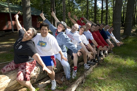 Meet new friends at Camp Camp, a summer camp experience for gay & lesbian adults