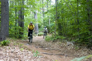 Mountain Biking at America's premier gay and lesbian outdoor vacation for GLBTQ adults