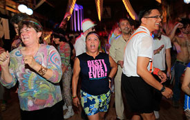 Barn Dances, Tea Dances and Broadway Dance at Camp Camp, America's fun GLBTQ summer camp!